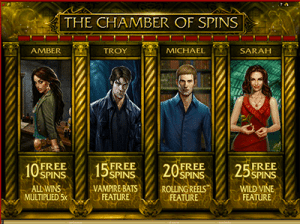 free spins on immortal romance by micro gaming