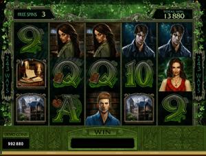 multi-level free spins bonus immortal romance
