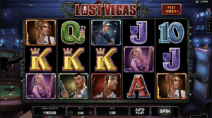 Microgaming Lost Vegas pokie