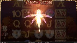 Graphics on NetEnt's fairytale pokie