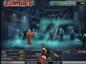 Zombies free spins bonus