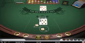 tie bet on casino war