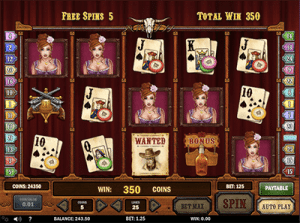 play'ngo gunslinger free spins