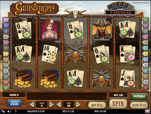 progressive jackpot on play'n go's gunslinger