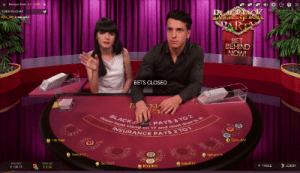 bet behind blackjack party