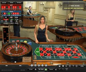 playtech live dealer roulette
