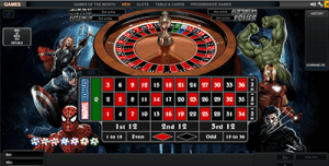 playtech marvel roulette