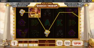 20 payline playtech goddess of wisdom