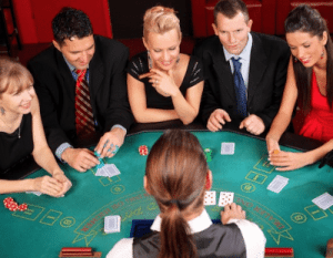 blackjack table etiquette