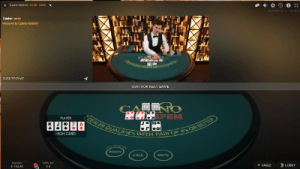 Live Casino Hold'em by Evolution Gaming