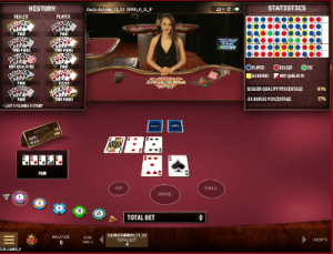 live casino holdem by microgaming