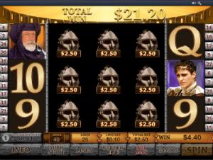 bonus round in gladiator