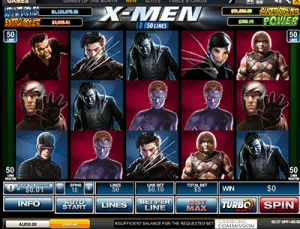 xmen by playtech x marvel