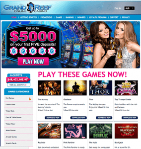 grand reef casino blacklisted