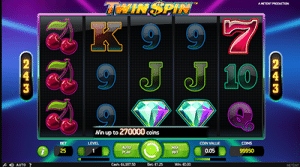 format of netents twin spin