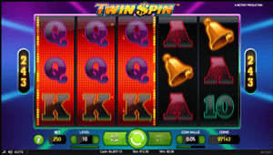 graphics and audio on twin spin