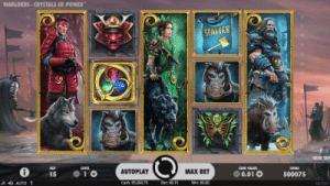 format of netents warlords: crystals of power