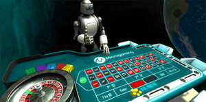 Microgaming VR roulette demo