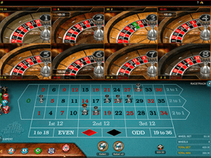 Microgaming Multi-Wheel roulette