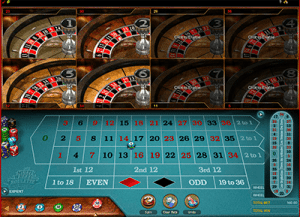 Microgaming's mutli-wheel eight wheels