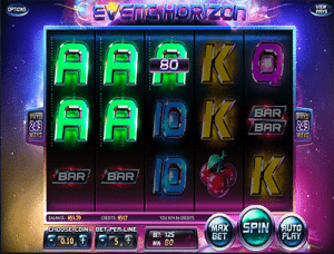 243 ways to win pokies - event horizon