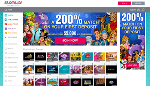Slots.lv online casinos