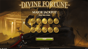 Audio and graphics on Divine Fortune