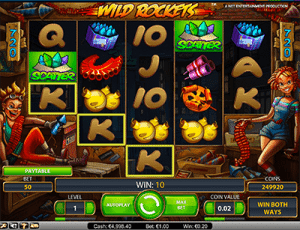 NetEnt Wild Rockets 720 ways to win