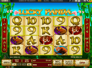 1024 ways to win Lucky Panda