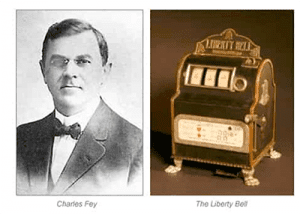 Charles Fey first poker machine