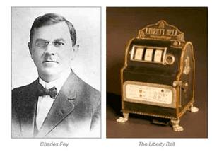 Charles Fey first poker machine
