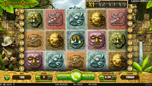 Maximum bet on Gonzo's Quest