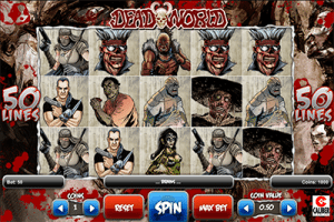 Deadworld online pokies game