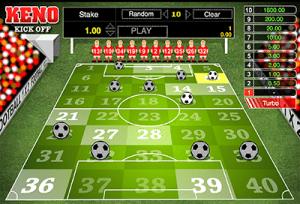 Keno Kick-Off by 1x2 Gaming