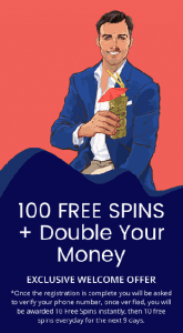 Agent Spinner welcome bonus free spins