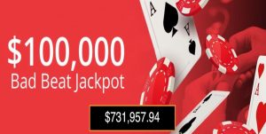 Bad Beat Jackpot BetOnline