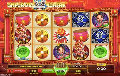 Mucho Vegas Emperor's Wealth