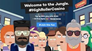 HighRoller.com sign-up package