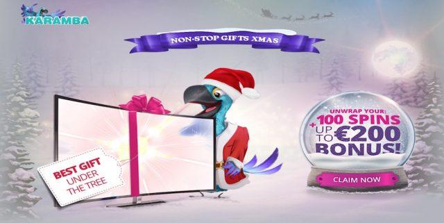 Karamba Casino Christmas Promo