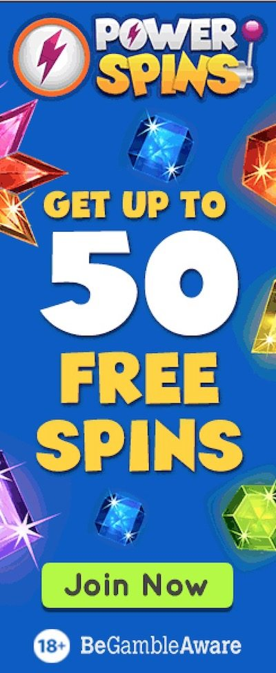 Power Spins welcome bonus