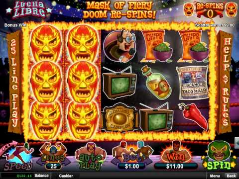 Luche Libre online slot game