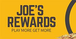 Loyalty rewards at Joe Fortune