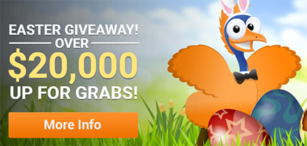 Win $20k in cash, bonuses, free spins and more
