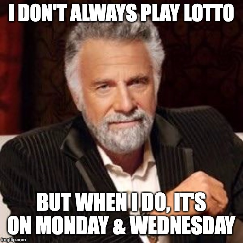 Monday & Wednesday Lotto