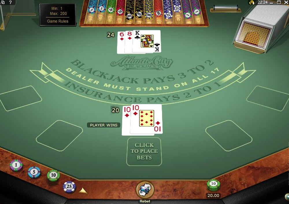Best Online Blackjack Victoria