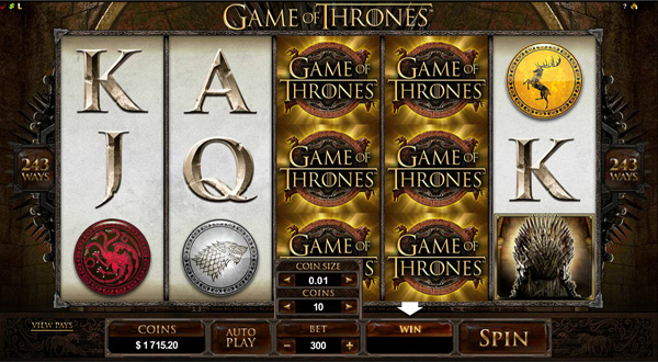 Game of Thrones - Online Slot