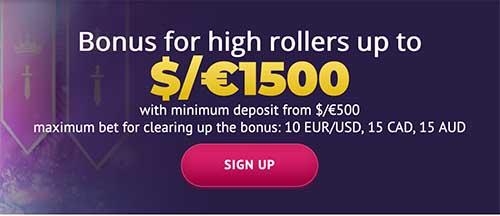 Slotum Casino bonus for Australians